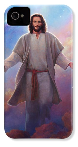 Sacred Space IPhone 4s Case by Greg Olsen