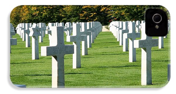 IPhone 4s Case featuring the photograph Saint Mihiel American Cemetery by Travel Pics