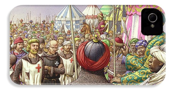 Saladin Orders The Execution Of Knights Templars And Hospitallers  IPhone 4s Case by Pat Nicolle