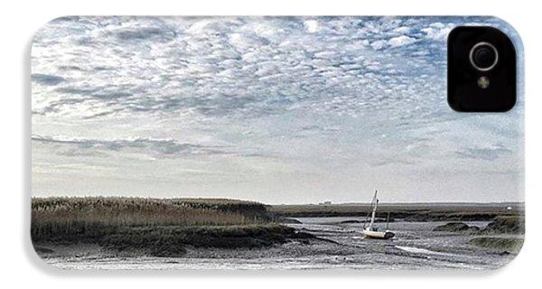 Salt Marsh And Creek, Brancaster IPhone 4s Case by John Edwards