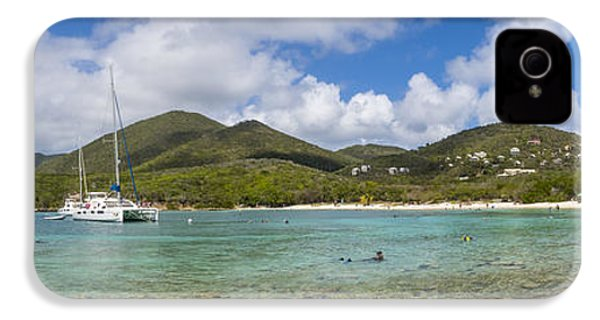 IPhone 4s Case featuring the photograph Salt Pond Bay Panoramic by Adam Romanowicz