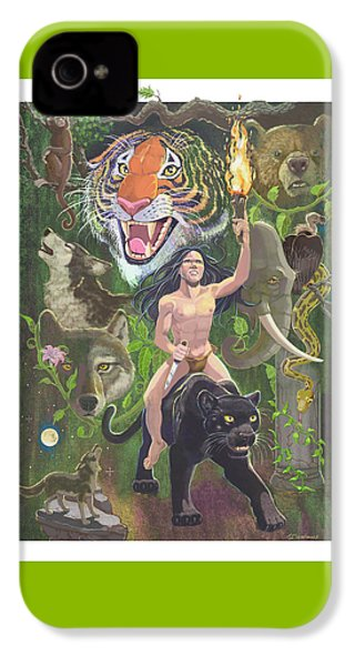 Savage IPhone 4s Case by J L Meadows