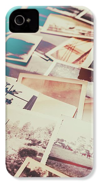 Scattered Collage Of Old Film Photography IPhone 4s Case by Jorgo Photography - Wall Art Gallery