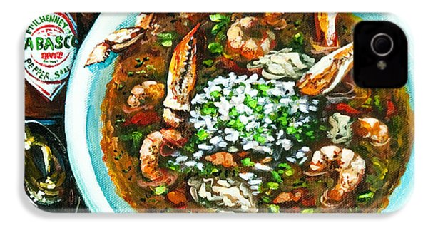 Seafood Gumbo IPhone 4s Case