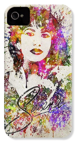 Selena Quintanilla In Color IPhone 4s Case by Aged Pixel
