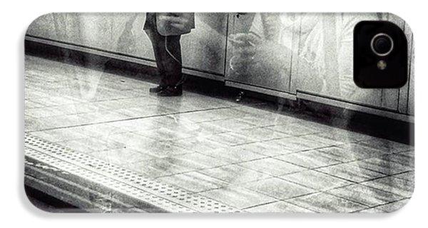 Señor #metro #underground #subway IPhone 4s Case by Rafa Rivas