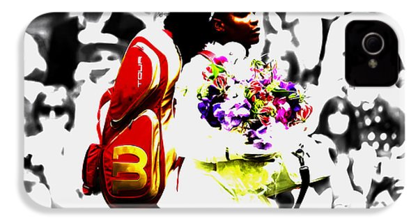 Serena Williams 2f IPhone 4s Case by Brian Reaves