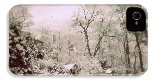 IPhone 4s Case featuring the photograph Serene In Snow by Jessica Jenney
