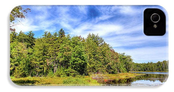 IPhone 4s Case featuring the photograph Serenity On Bald Mountain Pond by David Patterson