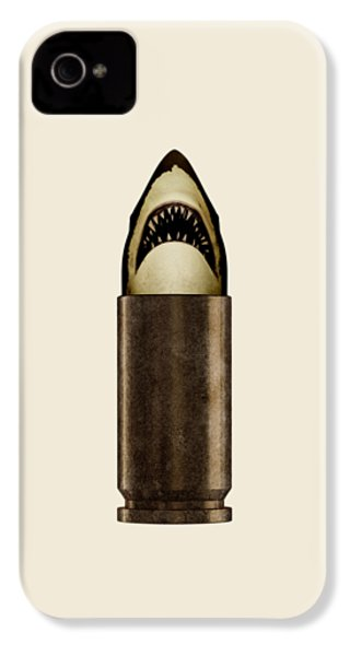 Shell Shark IPhone 4s Case by Nicholas Ely