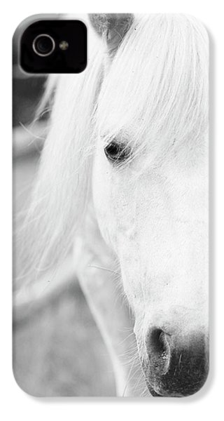 Shetland Pony IPhone 4s Case by Tina Lee