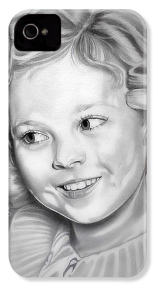 Shirley Temple IPhone 4s Case by Fred Larucci