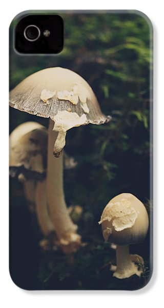 Shroom Family IPhone 4s Case by Shane Holsclaw