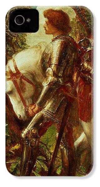 Sir Galahad IPhone 4s Case by George Frederic Watts
