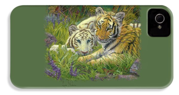 Sisters IPhone 4s Case by Lucie Bilodeau