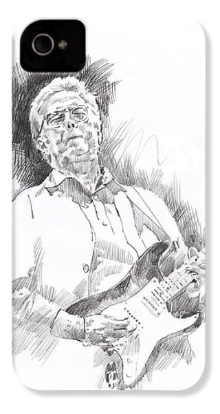 Slowhand IPhone 4s Case by David Lloyd Glover