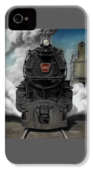 Smoke And Steam IPhone 4s Case by David Mittner