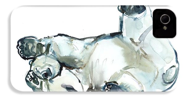 Snow Rub IPhone 4s Case by Mark Adlington