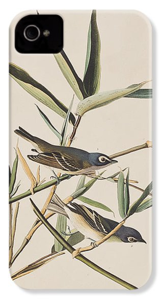 Solitary Flycatcher Or Vireo IPhone 4s Case