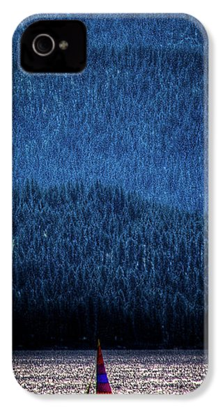 IPhone 4s Case featuring the photograph Solitude On Priest Lake by David Patterson