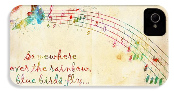 Somewhere Over The Rainbow IPhone 4s Case by Nikki Smith