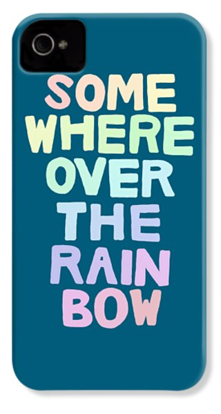 Somewhere Over The Rainbow IPhone 4s Case by Priscilla Wolfe