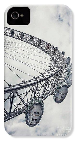 Spin Me Around IPhone 4s Case by Evelina Kremsdorf