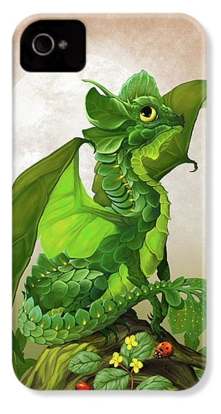 Spinach Dragon IPhone 4s Case by Stanley Morrison