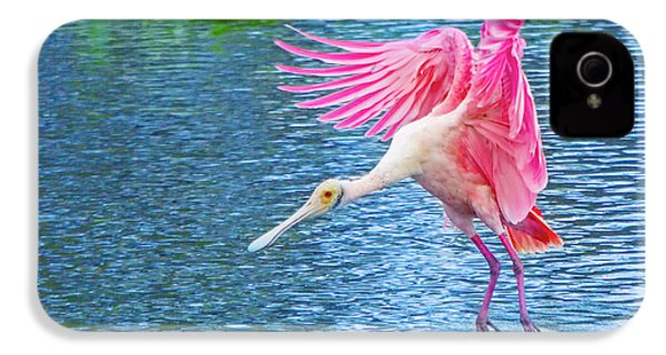 Spoonbill Splash IPhone 4s Case by Mark Andrew Thomas