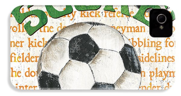 Sports Fan Soccer IPhone 4s Case