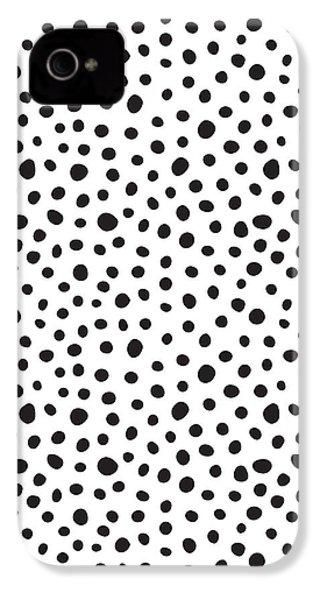 Spots IPhone 4s Case by Rachel Follett