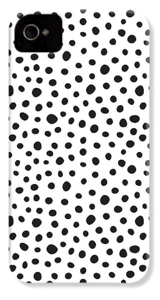 Spots IPhone 4s Case by Rachel Follett