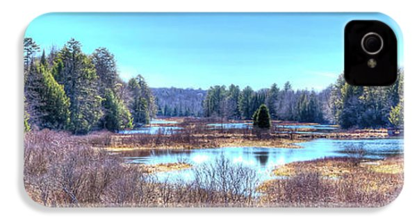 IPhone 4s Case featuring the photograph Spring Scene At The Tobie Trail Bridge by David Patterson