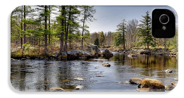 IPhone 4s Case featuring the photograph Spring Near Moose River Road by David Patterson