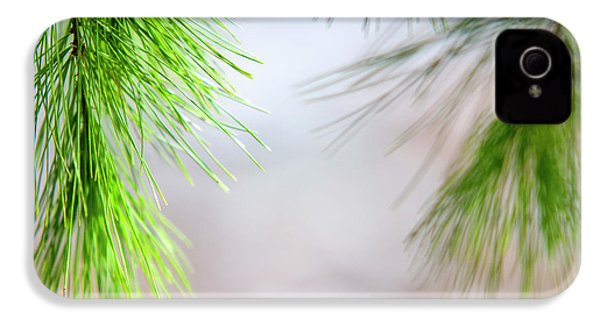 Spring Pine Abstract IPhone 4s Case by Christina Rollo