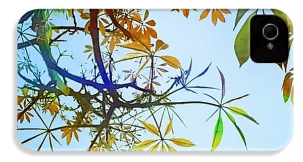 #spring #tree #leaves With #watercolor IPhone 4s Case
