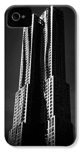 IPhone 4s Case featuring the photograph Spruce Street By Gehry by Jessica Jenney