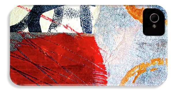 IPhone 4s Case featuring the painting Square Collage No. 3 by Nancy Merkle