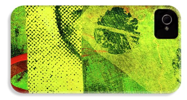 IPhone 4s Case featuring the mixed media Square Collage No. 8 by Nancy Merkle