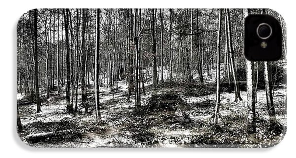 St Lawrence's Wood, Hartshill Hayes IPhone 4s Case by John Edwards