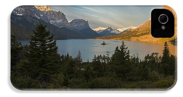 St. Mary Lake IPhone 4s Case by Gary Lengyel