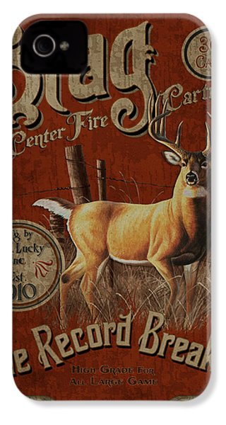 Stag Record Breaker Sign IPhone 4s Case