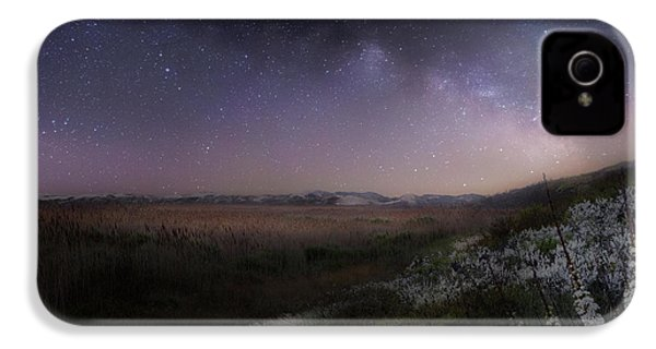 IPhone 4s Case featuring the photograph Star Flowers Square by Bill Wakeley