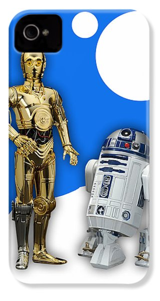 Star Wars C-3po And R2-d2 IPhone 4s Case