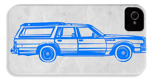 Station Wagon IPhone 4s Case by Naxart Studio