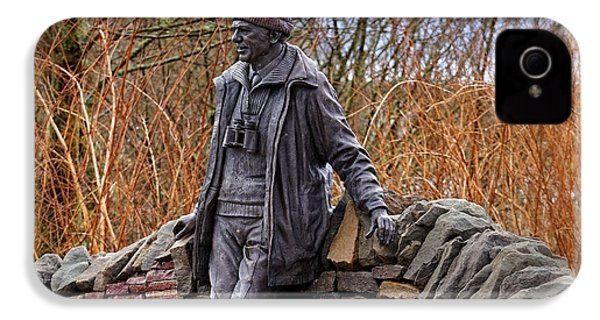 IPhone 4s Case featuring the photograph Statue Of Tom Weir by Jeremy Lavender Photography