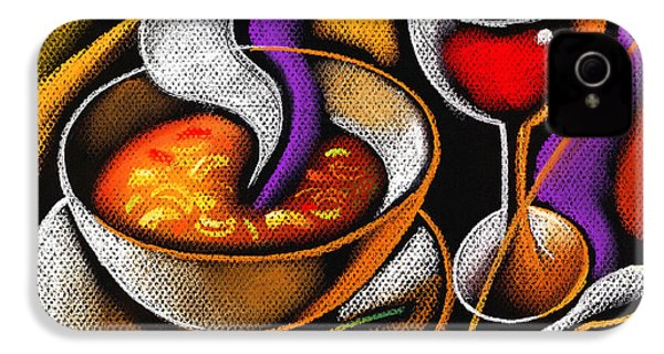 Steaming Supper IPhone 4s Case by Leon Zernitsky