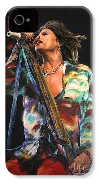 Steven Tyler 01 IPhone 4s Case by Dawn Serkin
