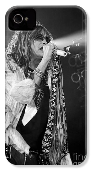 Steven Tyler In Concert IPhone 4s Case by Traci Cottingham