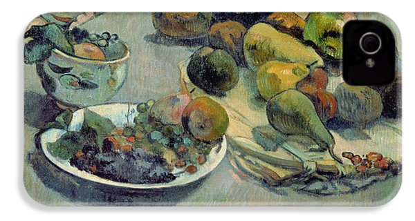 Still Life With Fruit IPhone 4s Case by Paul Gauguin